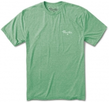 Primitive Nuevo Pennant Light Weight Tee, Mint Heather