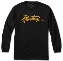 Primitive Thrashed LS Tee, Black