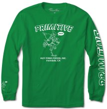 Primitive X Huy Fong Foods Saucy LS Tee, Green
