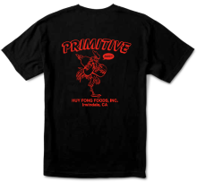 Primitive X Huy Fong Foods Saucy Tee, Black