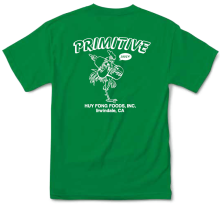Primitive X Huy Fong Foods Saucy Tee, Green