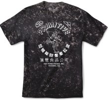 Primitive X Huy Fong Foods Tie Dye Tee, Black Acid Wash