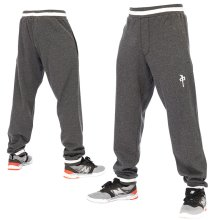 RDS All-Star Sweatpants, Dark Heather White