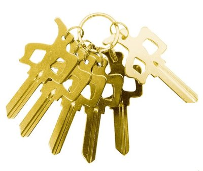 RDS Chung Key Schlage, Gold