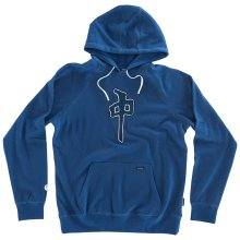 RDS Chung Raglan Hoodie, Heather Royal