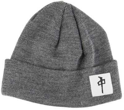 RDS Chung Square Beanie, Charcoal