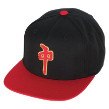 RDS Contour Snapback, Black Red Gold
