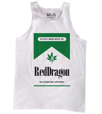 RDS Dragon Country Tank, White