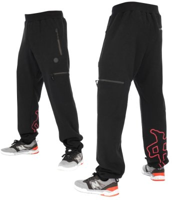 RDS Esoteric Sweatpants, Black Red