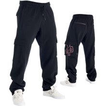 RDS Grande Cargo Sweatpants, Black Red