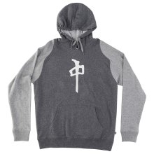 RDS Highdef Raglan Hoodie, Dark Heather Grey