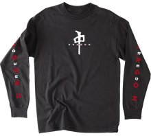RDS Interwoven LS Tee Black White Red