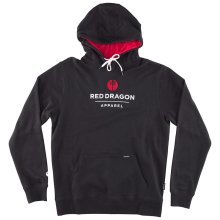 RDS LX Point Hoodie, Black Red White