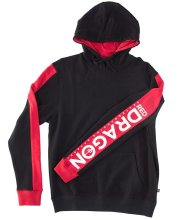 RDS Lee Hoodie, Black Red