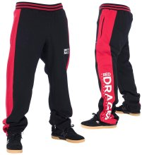 RDS Lee Sweatpants, Black Red