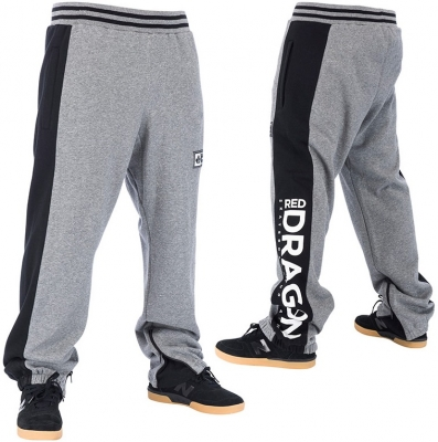 RDS Lee Sweatpants, Heather Grey Black