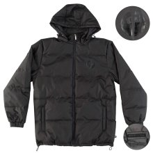 RDS Magic Dragon Puffer Jacket, Black