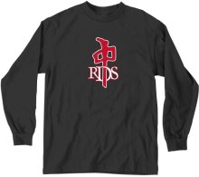 RDS OG LS Tee, Black Red White