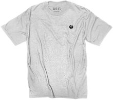 RDS Petit Point Tee, Heather Grey Black