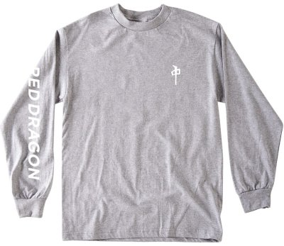 RDS Rolo LS Tee, Heather Grey White