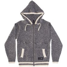 RDS Sock It Zip Hoodie, Speckled Heather Cream