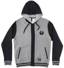 RDS Urd Zip Hoodie, Heather Grey Black
