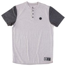RDS Unity Henley, Heather Grey Dark Heather