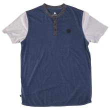 RDS Unity Henley, Heather Navy Heather Grey