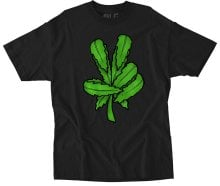 RDS Weed Claw Tee, Black