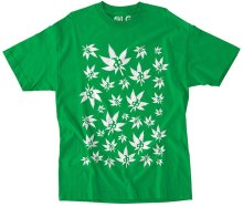 RDS Weed Wall Tee, Kelly