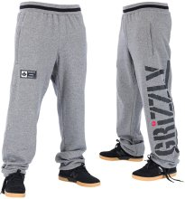 RDS X Grizzly Sweatpants, Heather Grey