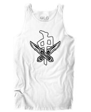 RDS X Wolfknives Tank, White