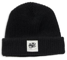 Royal Quality Fold Beanie, Black