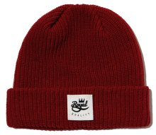 Royal Quality Fold Beanie, Red
