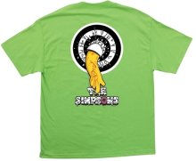 Santa Cruz Simpsons Homer One Tee, Lime