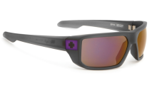 Spy MCCOY Sunglasses, Grey/Purple