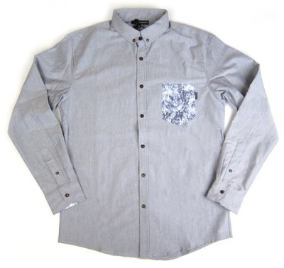 The Quiet Life Crystal Oxford Woven, Grey