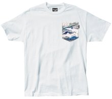 The Quiet Life Ocean Pocket Tee, White