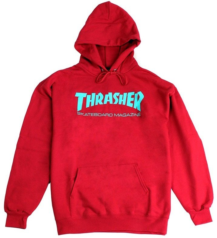 d7f4173ab6bc Thrasher Skate Mag Hoodie, Red | SK8 Clothing Canada