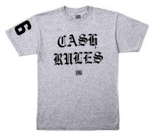 Wutang Brand LTD Cash Rules Tee, Heather