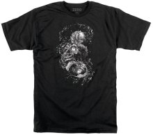 Zero Faces Of Death Tee, Black