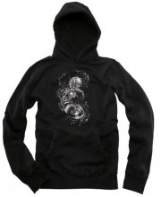 Zero Faces of Death Hoodie, Black