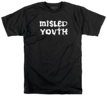 Zero Misled Youth Tee, Black White