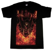 Blind Hell Awaits Tee, Black