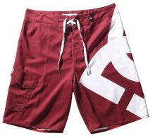 DC Shoes Lanai Essential 3 Boardshorts, red