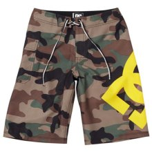 DC Shoes Lanai Boardshorts, Woodland Camo