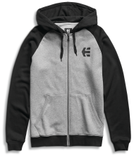 etnies E-Corp Zip Hoodie, Heather Grey