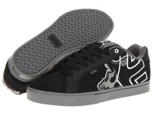 etnies Metal Mulisha Fader 1.5, Black Dark Grey