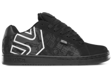 etnies Fader Metal Mulisha, Black Black White