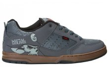 etnies Metal Mulisha Cartel Shoes, Grey Gum